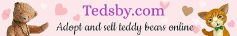 Tedsby - Handmade teddy bears and other cute stuffed animals. Hundreds of teddy artists from all over the world and thousands of OOAK creations.